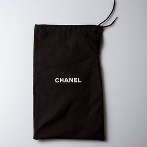 Authentic Chanel signature dust bag